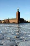 市政厅斯德哥尔摩 免版税图库摄影