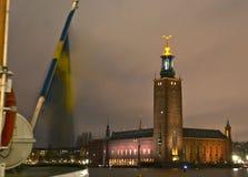市政厅斯德哥尔摩 库存照片