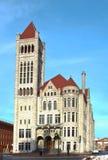 市政厅新的西勒鸠斯约克 免版税库存照片