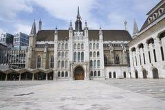 市政厅有历史的伦敦 库存照片