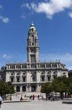 市政厅波尔图 库存照片