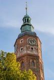 市政厅的钟楼 库存图片