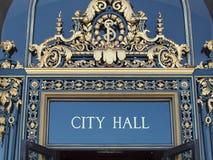 市政厅符号 免版税图库摄影