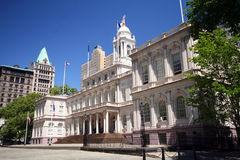市政厅纽约 库存图片