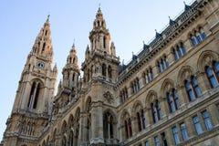 市政厅维也纳 库存照片
