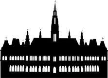 市政厅维也纳 皇族释放例证