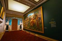 市政厅美术画廊在伦敦,英国 免版税库存照片