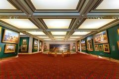 市政厅美术画廊在伦敦,英国 免版税图库摄影