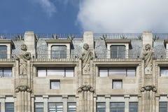 市政厅老波尔图葡萄牙 图库摄影