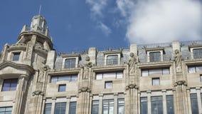 市政厅老波尔图葡萄牙 库存图片