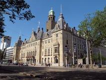 市政厅荷兰鹿特丹s 免版税库存图片