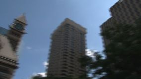 市政厅街市多伦多,加拿大 股票录像