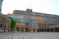 市政厅西部翼在伦敦市英国 库存照片
