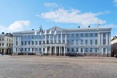 市政厅赫尔辛基 库存照片