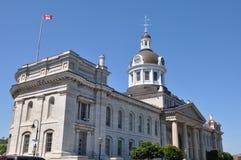 市政厅金斯敦安大略 免版税库存图片