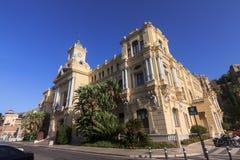 市政厅马拉加 库存照片