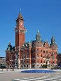 市政厅helsingborg瑞典 免版税图库摄影