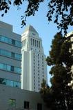 市政厅la 免版税库存照片