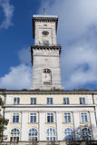 市政厅lviv乌克兰 库存照片