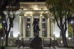 市政厅yavapai 库存照片