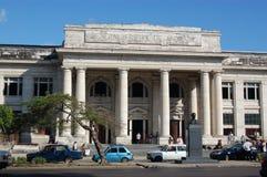 市政古巴哈瓦那的医院 免版税库存图片