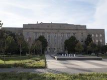 市政大厦在俄克拉何马市-俄克拉何马市-俄克拉何马- 2017年10月18日 免版税库存图片