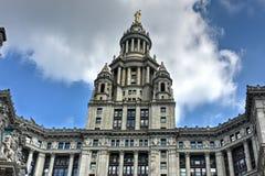 市政大厦-纽约 库存图片