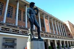 市政宫殿在市蒙得维的亚 免版税库存照片