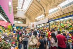 市政市场在圣保罗 免版税库存照片