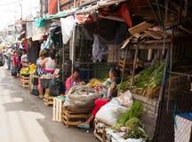 市政市场梅尔卡多4在亚松森,巴拉圭 免版税库存照片