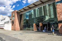市政市场门面在库里奇巴 库存图片
