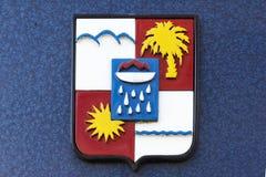市政徽章索契的 库存图片