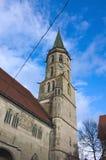 市政教会- II -绍尔恩多尔夫-德国 免版税库存照片