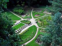 市政科鲁的庭院 库存照片