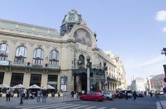 市政议院在布拉格 免版税库存图片