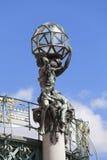 市政议院,雕塑,布拉格,捷克 免版税库存照片