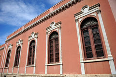 市政音乐学院在雷阿尔城,西班牙 图库摄影