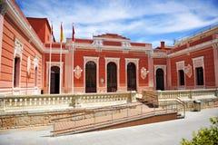 市政音乐学院在雷阿尔城,西班牙 免版税图库摄影