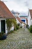 市斯塔万格在挪威 免版税库存照片