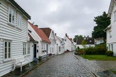 市斯塔万格在挪威 图库摄影