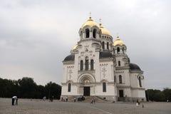 市新切尔卡斯特 俄国 军事复活大教堂 图库摄影