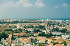 市普罗塔拉斯,塞浦路斯 免版税库存照片