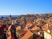 市杜布罗夫尼克,克罗地亚 免版税库存照片