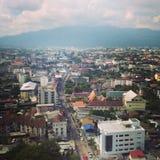 市清迈,泰国 免版税图库摄影
