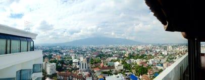 市清迈,泰国 免版税库存图片