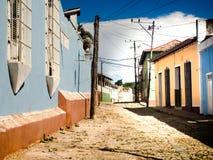 市特立尼达古巴 库存图片