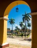 市特立尼达古巴 库存照片