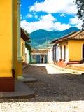 市特立尼达古巴 免版税库存照片