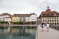市琉森,瑞士 免版税库存图片