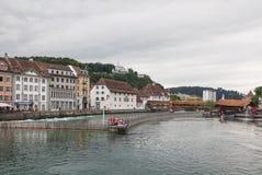 市琉森,瑞士 免版税库存照片